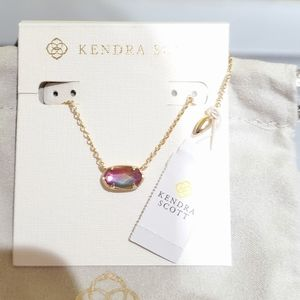 🌈Kendra Scott Grayson Gold n Watercolor Illusion